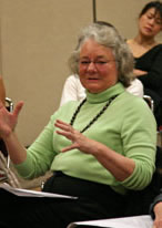 Kathy Roper was one of the panelists for the discussion on Nov. 12.