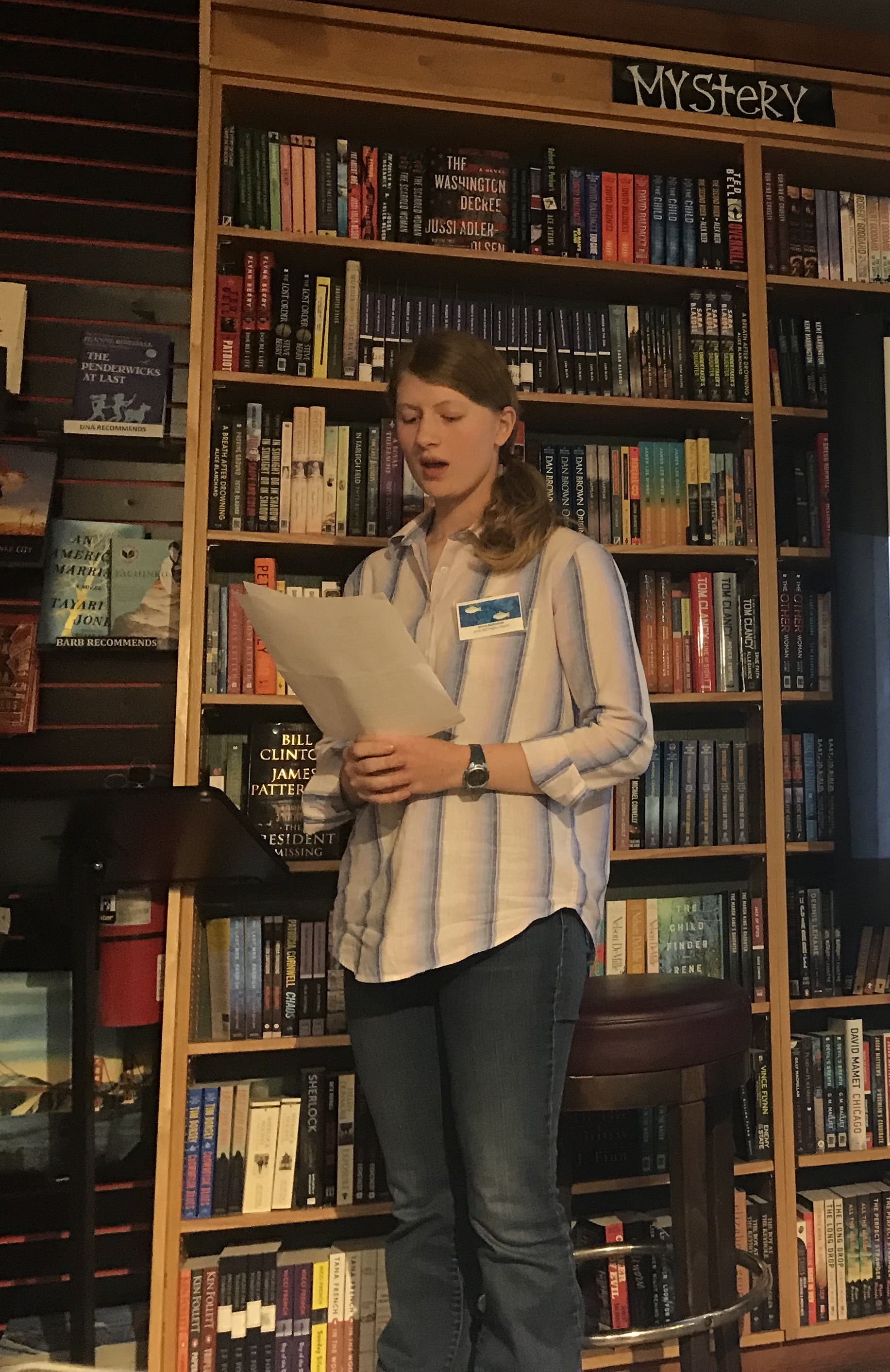 River of Words at Book Passage By-the-Bay