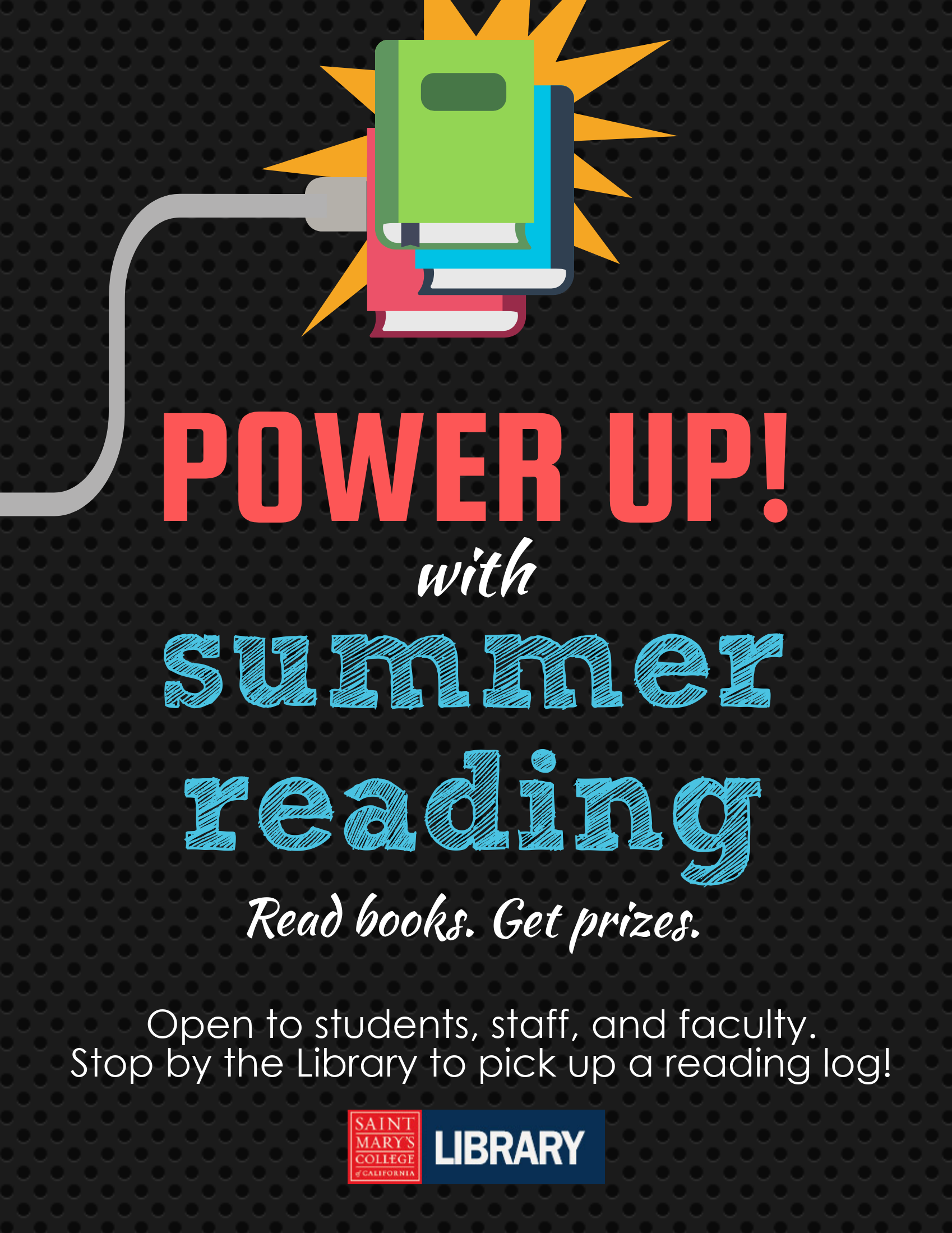 Power Up with Summer Reading flyer front