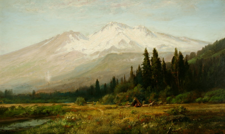 Mount Shasta from Strawberry Valley