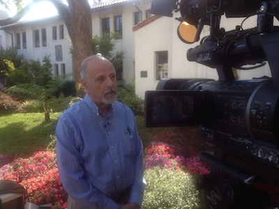 Theology and Religious Studies Professor Paul Giurlandia talks with ABC7 about Pope Francis' historic visit to the U.S.