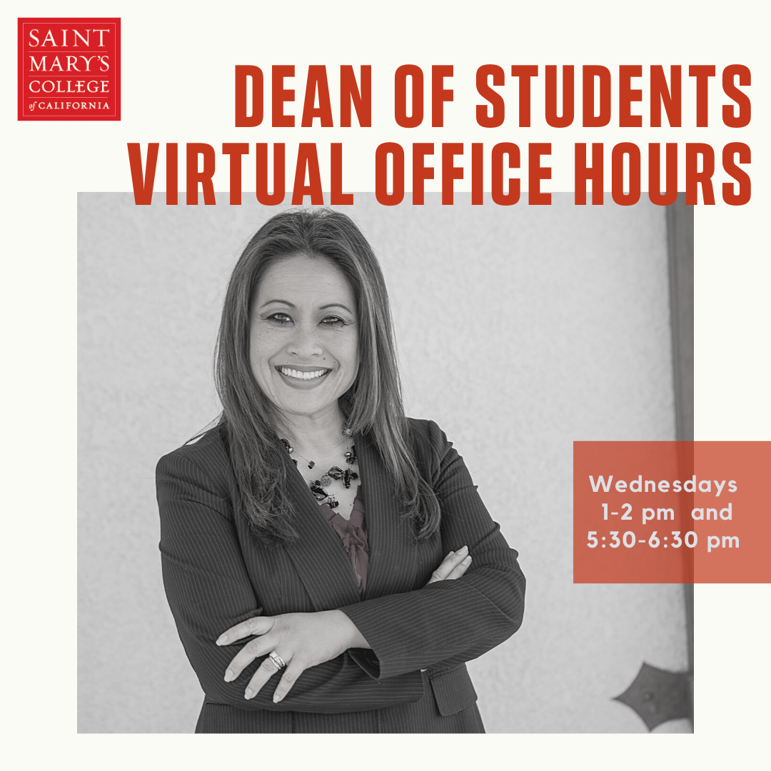 Dean of Students office hours poster image