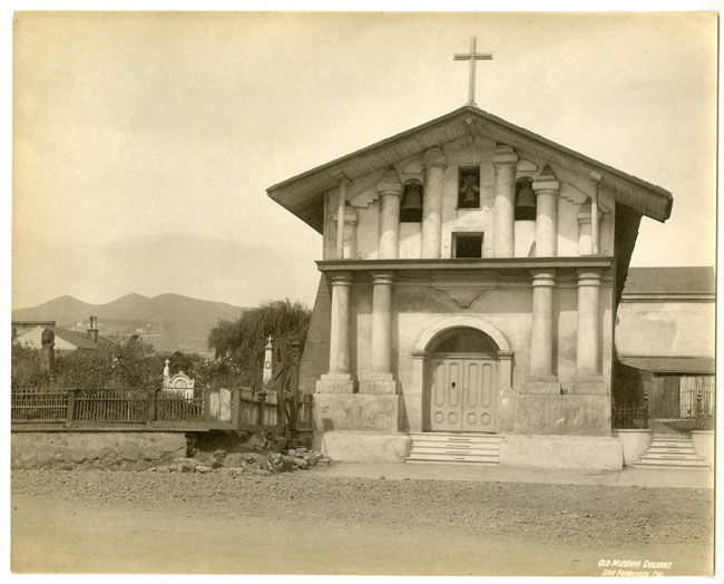The Missing Bell San Francisco's Mission Dolores, founded in 1776. Could one of Saint Mary's bells have started here?