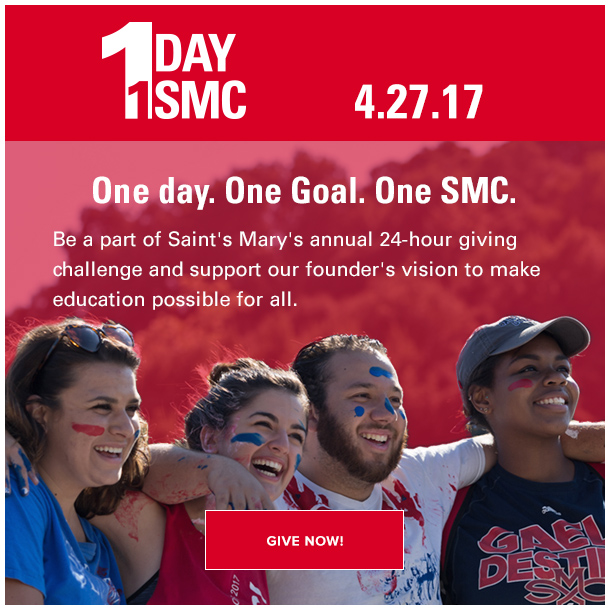 One day. One goal. One SMC.