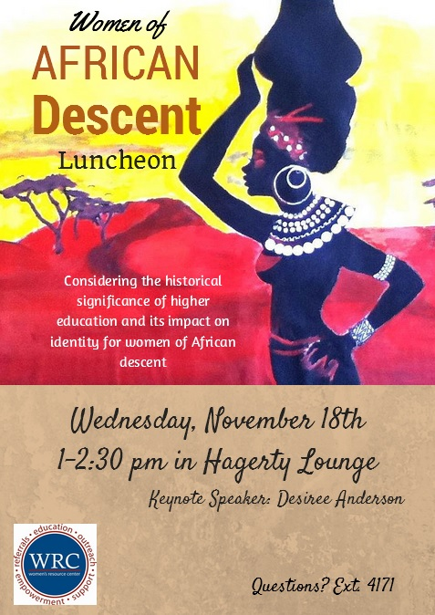 African Luncheon Flyer
