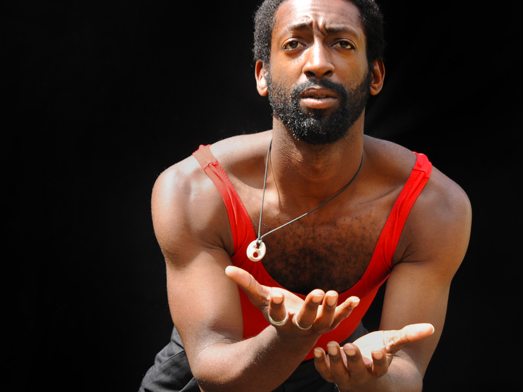 Deaf dancer and LEAP student Antoine Huntercommunicates the power of movement.