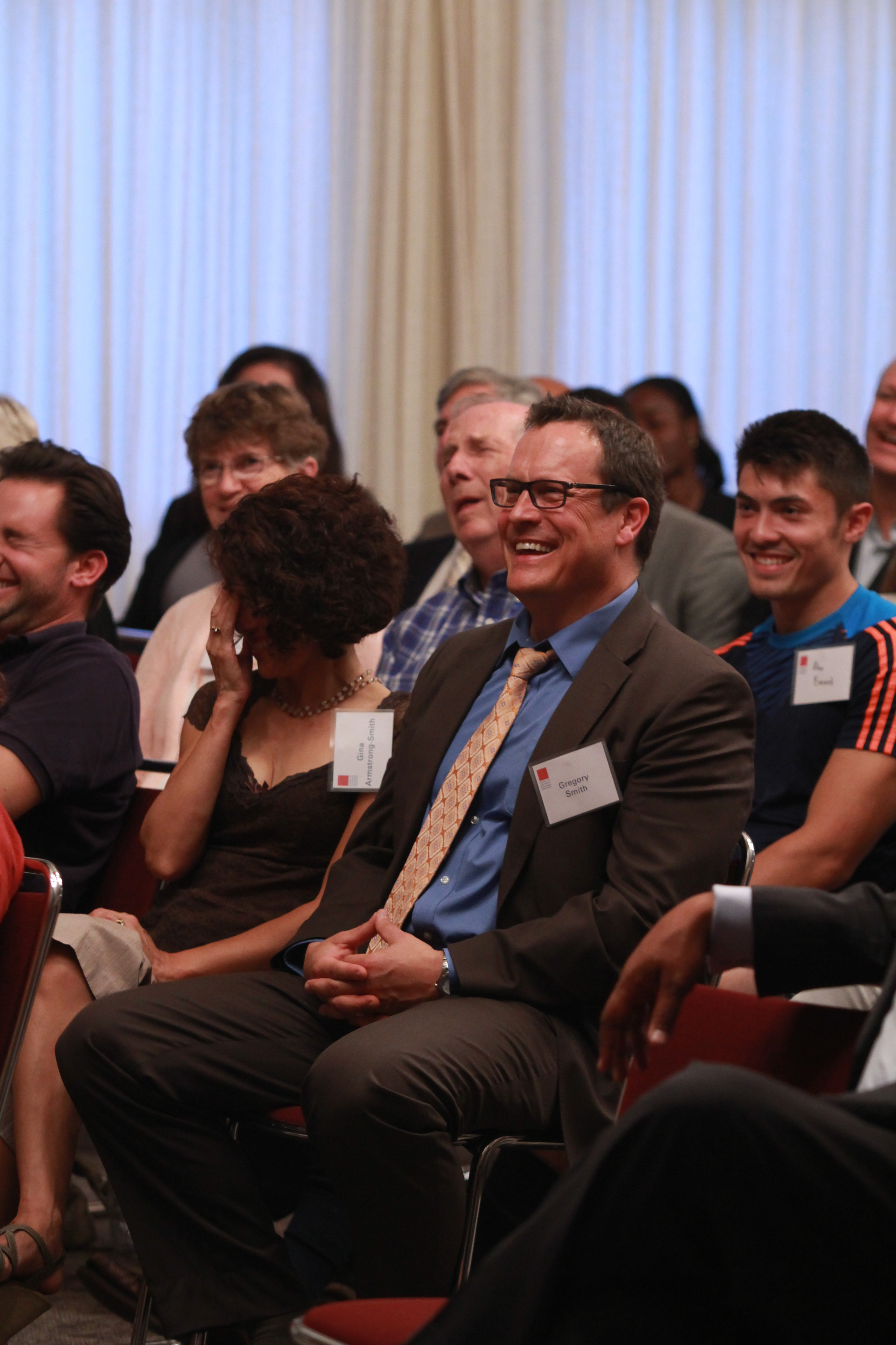 Audience at Executive Speaker Series September 19, 2013