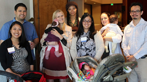 Attendees with babies