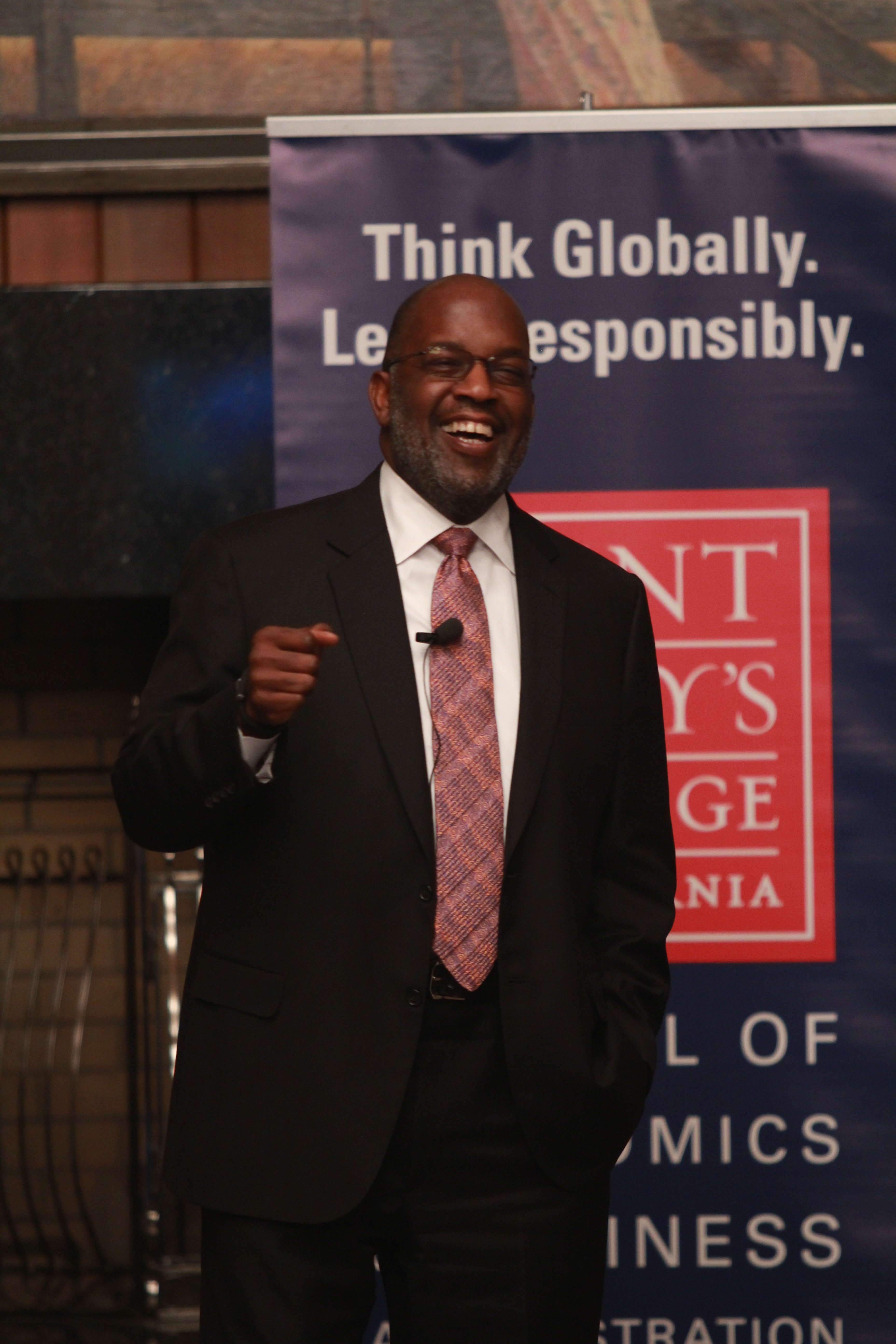 Bernard J. Tyson at Saint Mary's School of Economics and Business Administration's Executive Speaker Series September 19, 2013