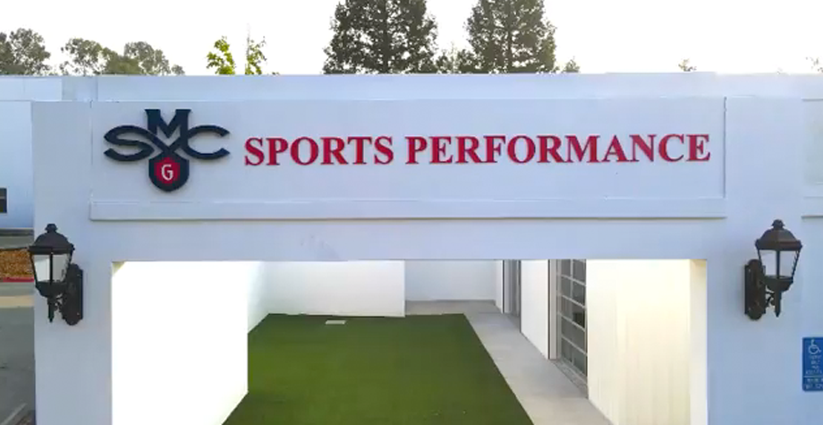 New sports complex building