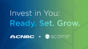 CNBC & Acorns logo