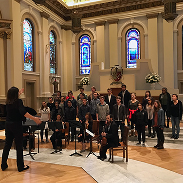 Saint Mary's College Chamber Singers