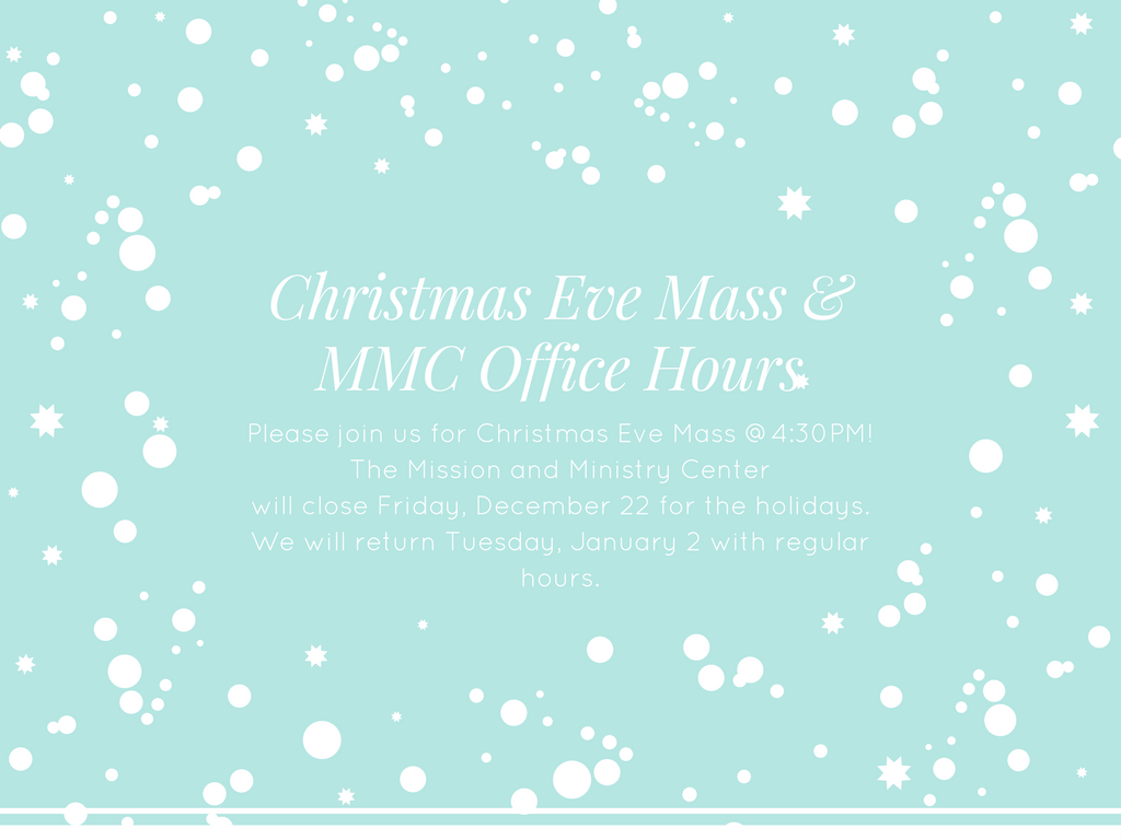 MMC holiday hours