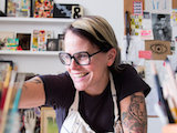 "[""Lisa Congdon '90 never meant to be a fine artist, illustrator, or even an author. ]"