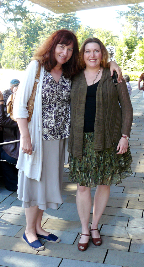 Professors Anna Novakov and Costanza Dopfel