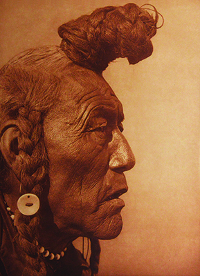 Edward S. Curtis, Bear Bull - Blackfoot, 1926, Collection of Roger Epperson.