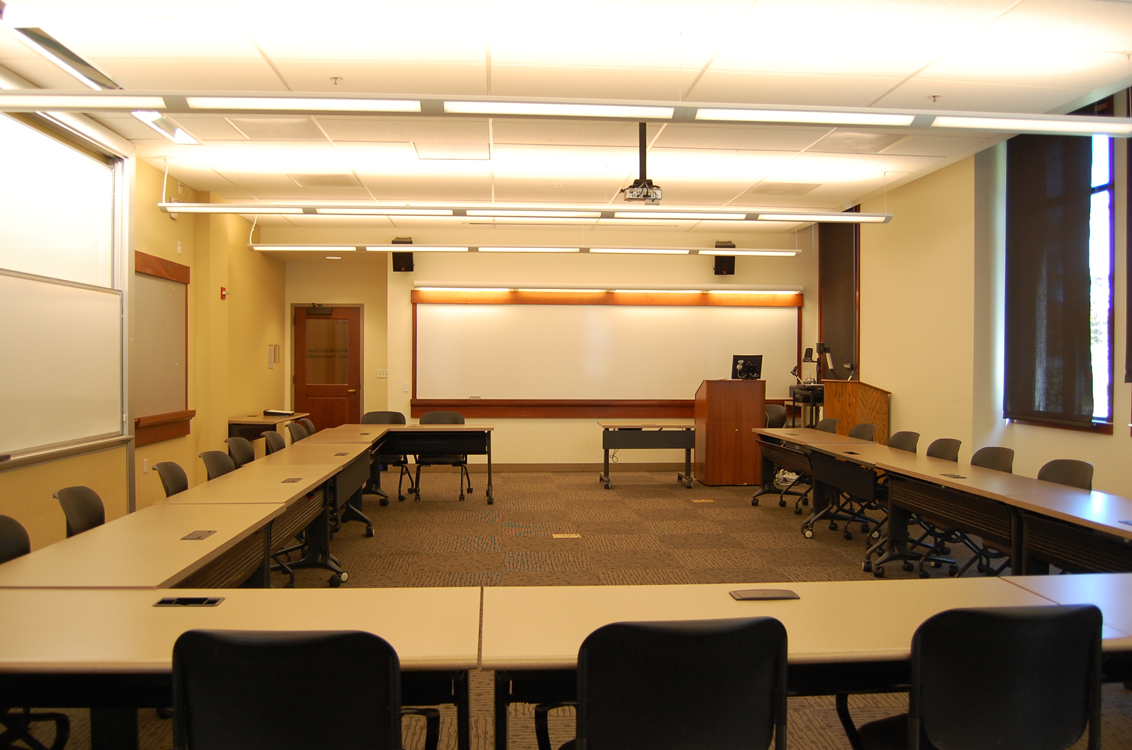 Student view of FAH 115