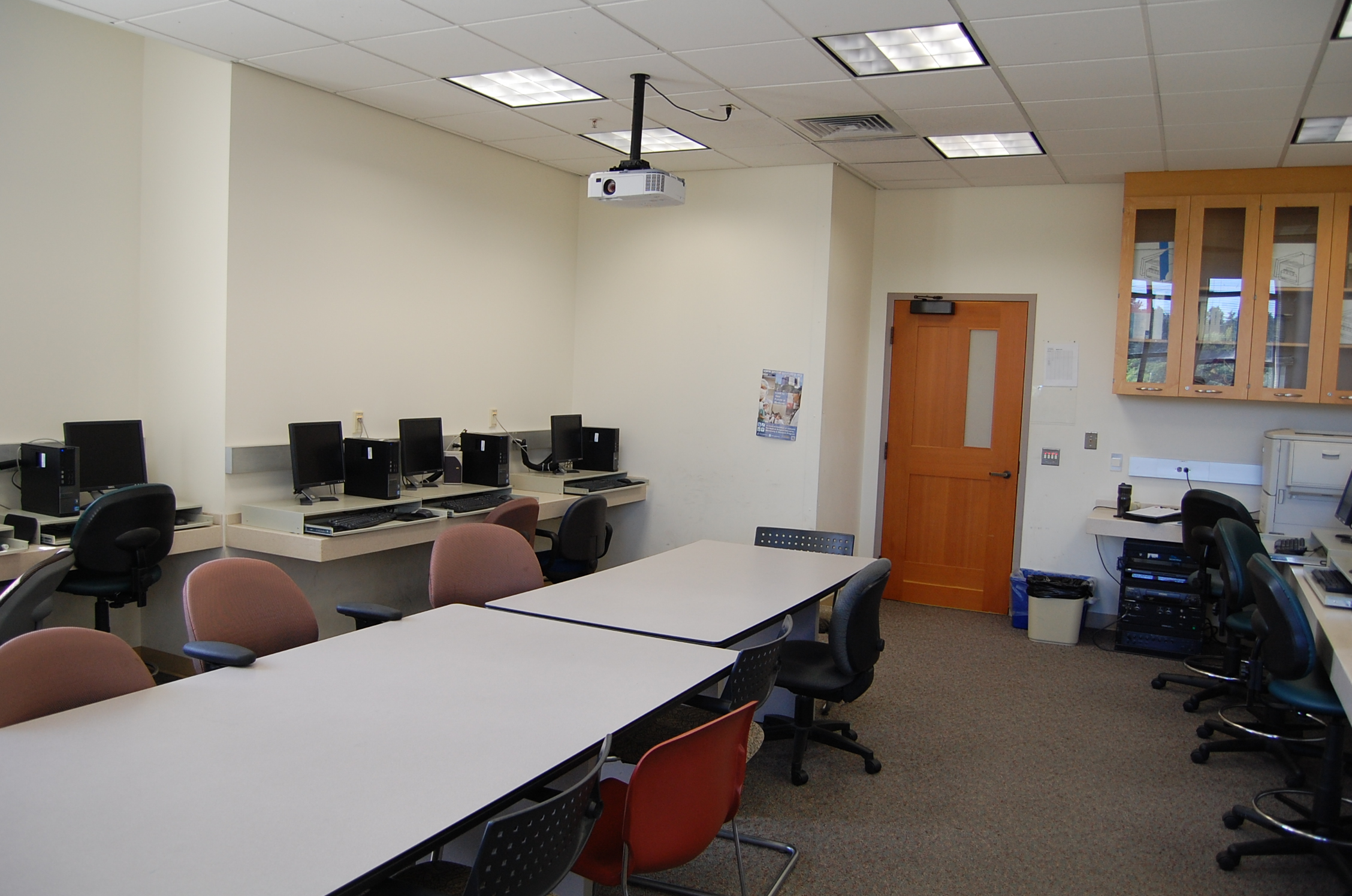 Teacher view of BROH 314