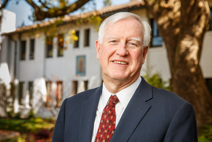 President Donahue, Saint Mary's College