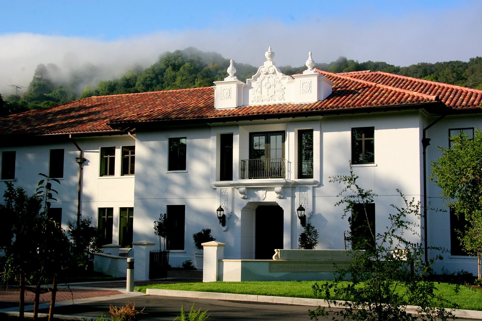 <p>Filippi Academic Hall, home of</p> <p>Saint Mary's Leadership Center.</p>
