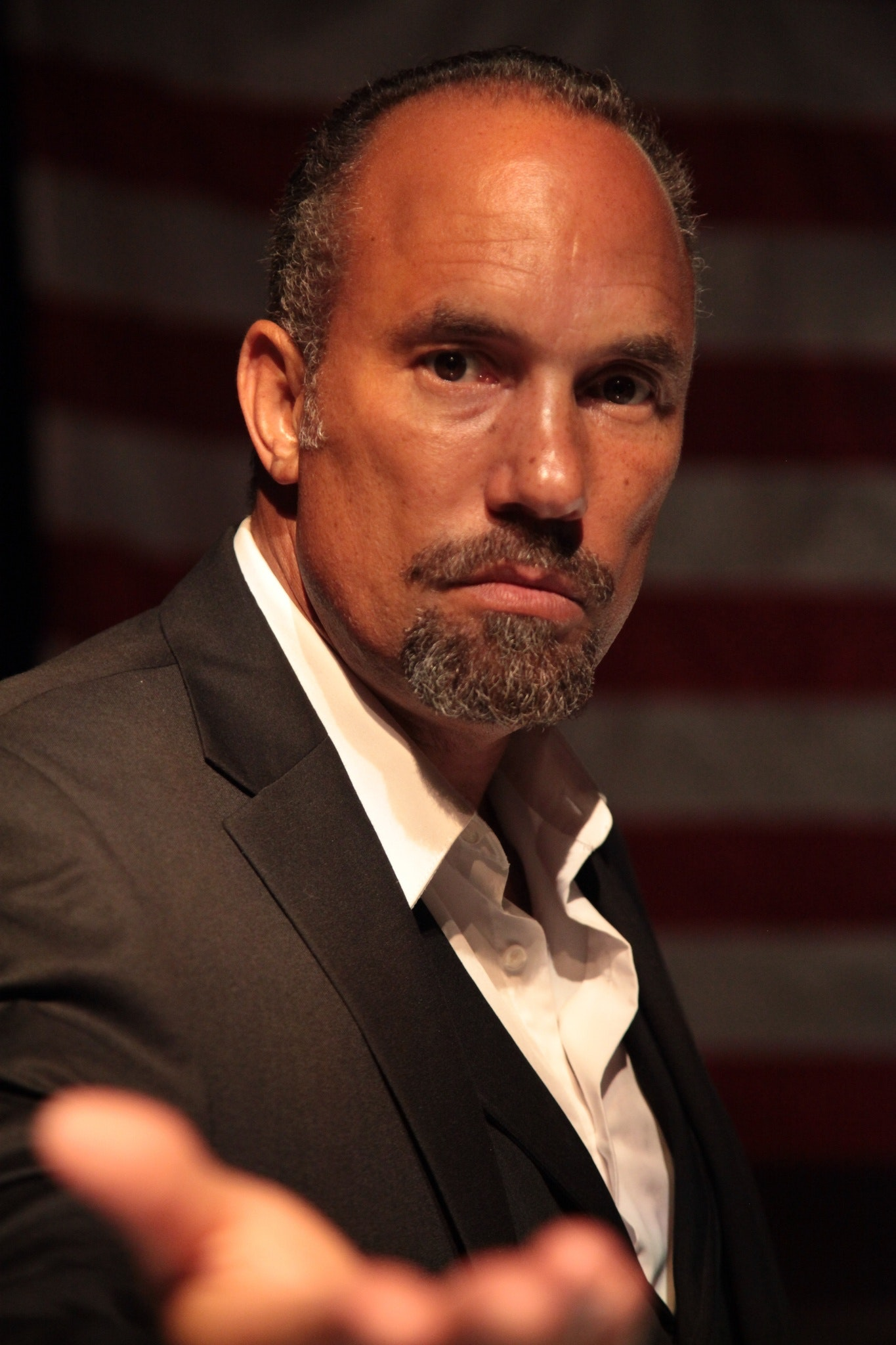 "Obie-Award winning actor Roger Guenveur Smith performing ""Frederick Douglass Now,"" a monologue inspired by the life and work of the self-liberated abolitionist Frederick Douglass. The production is a presentation of SMC's Informal Curriculum Series."