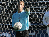 [Former Saint Mary's goalkeeper Doug Herrick is doing his best to become the first Gael ever to play in soccer's World Cup. ]
