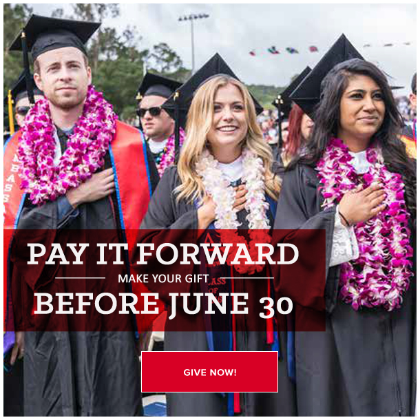 Pay It Forward: Before June 30