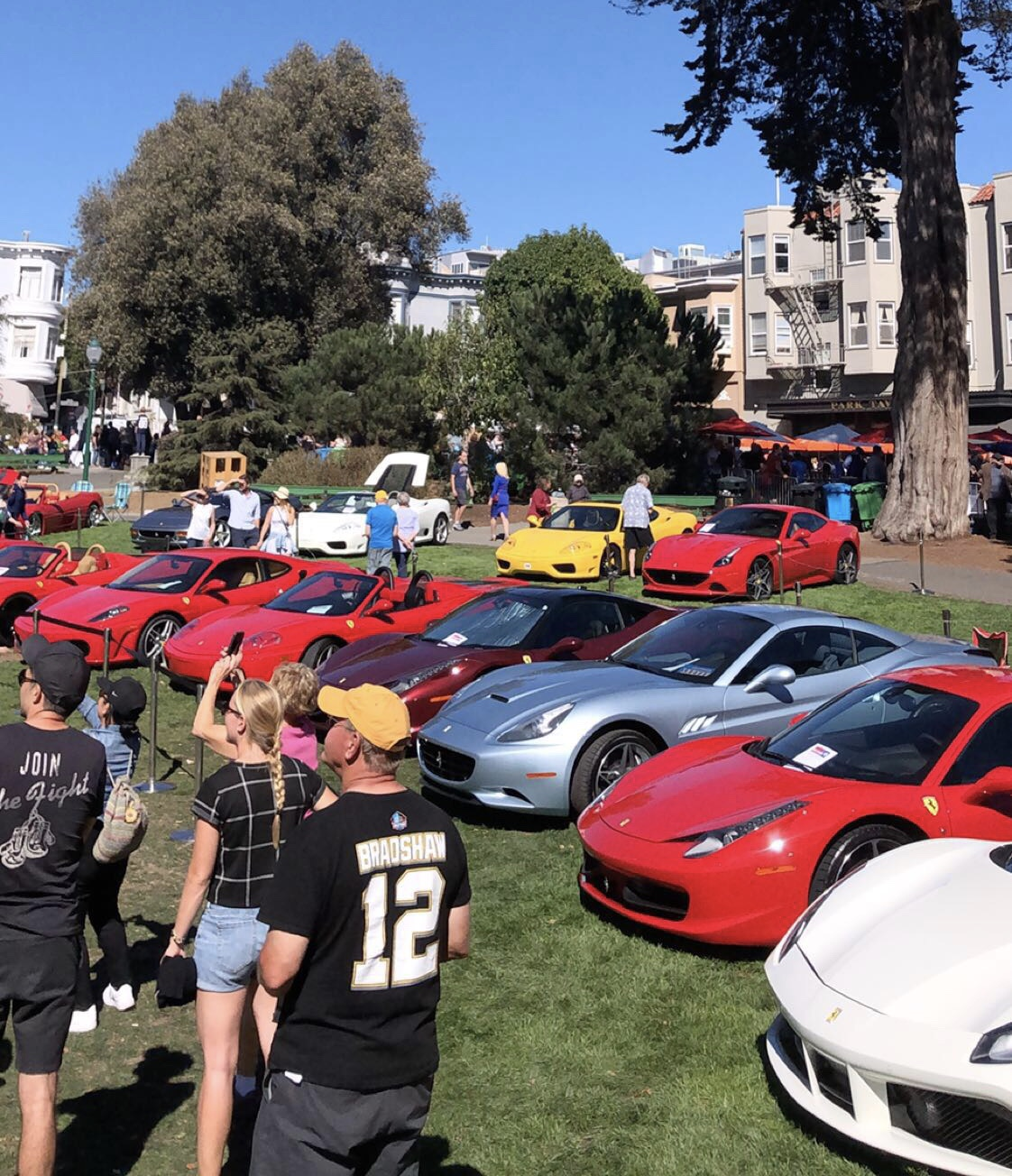 Ferrari in San Francisco