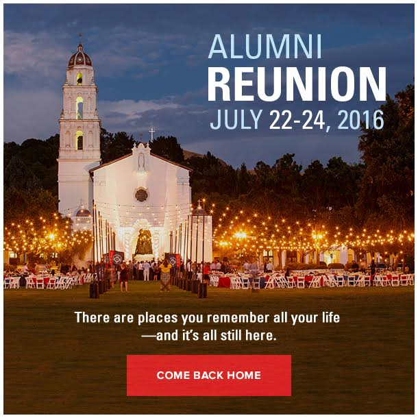 Reunion Weekend 2016 Pop Up