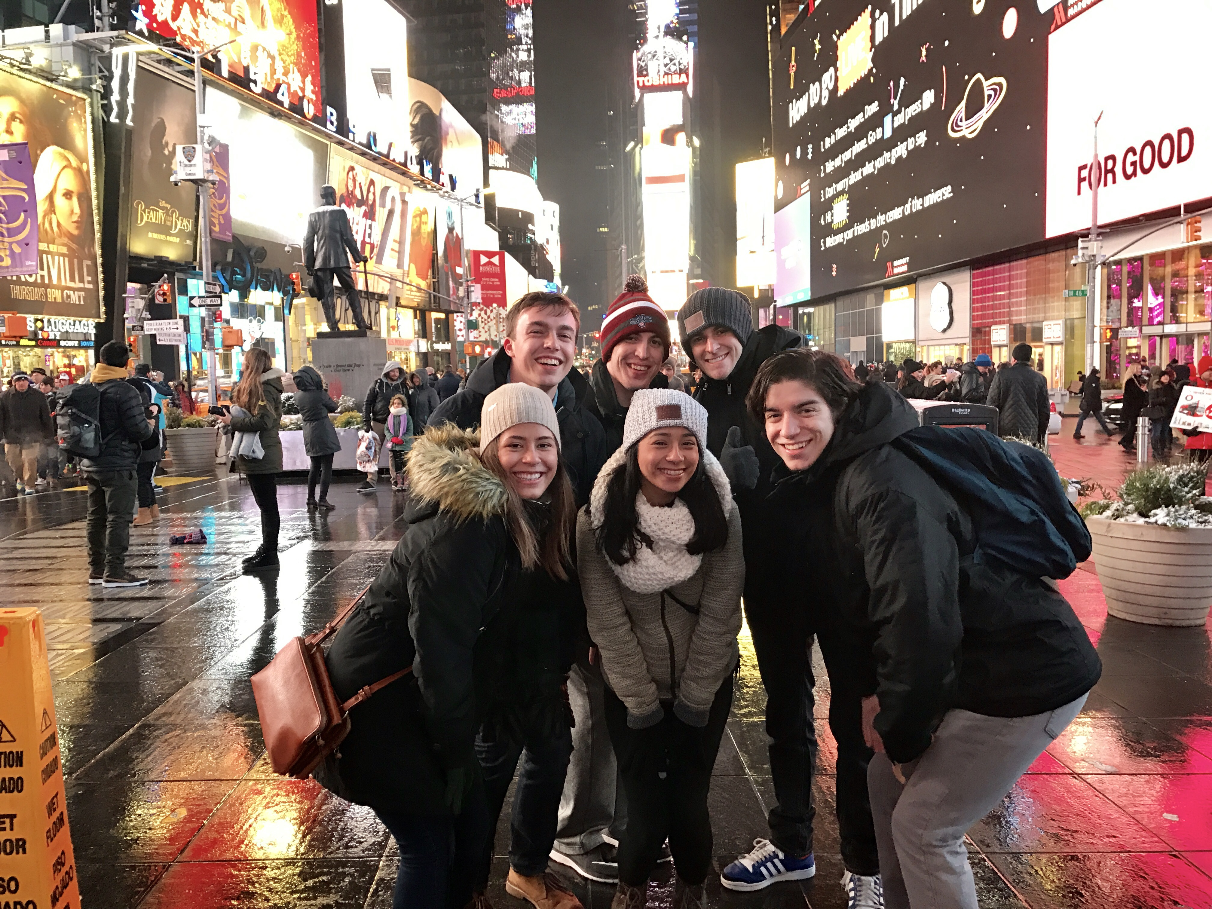 East Coast LSIers visit New York