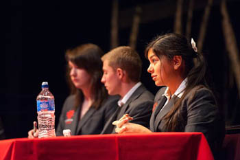 The Debate & Speech team tackled the big issues of our day
