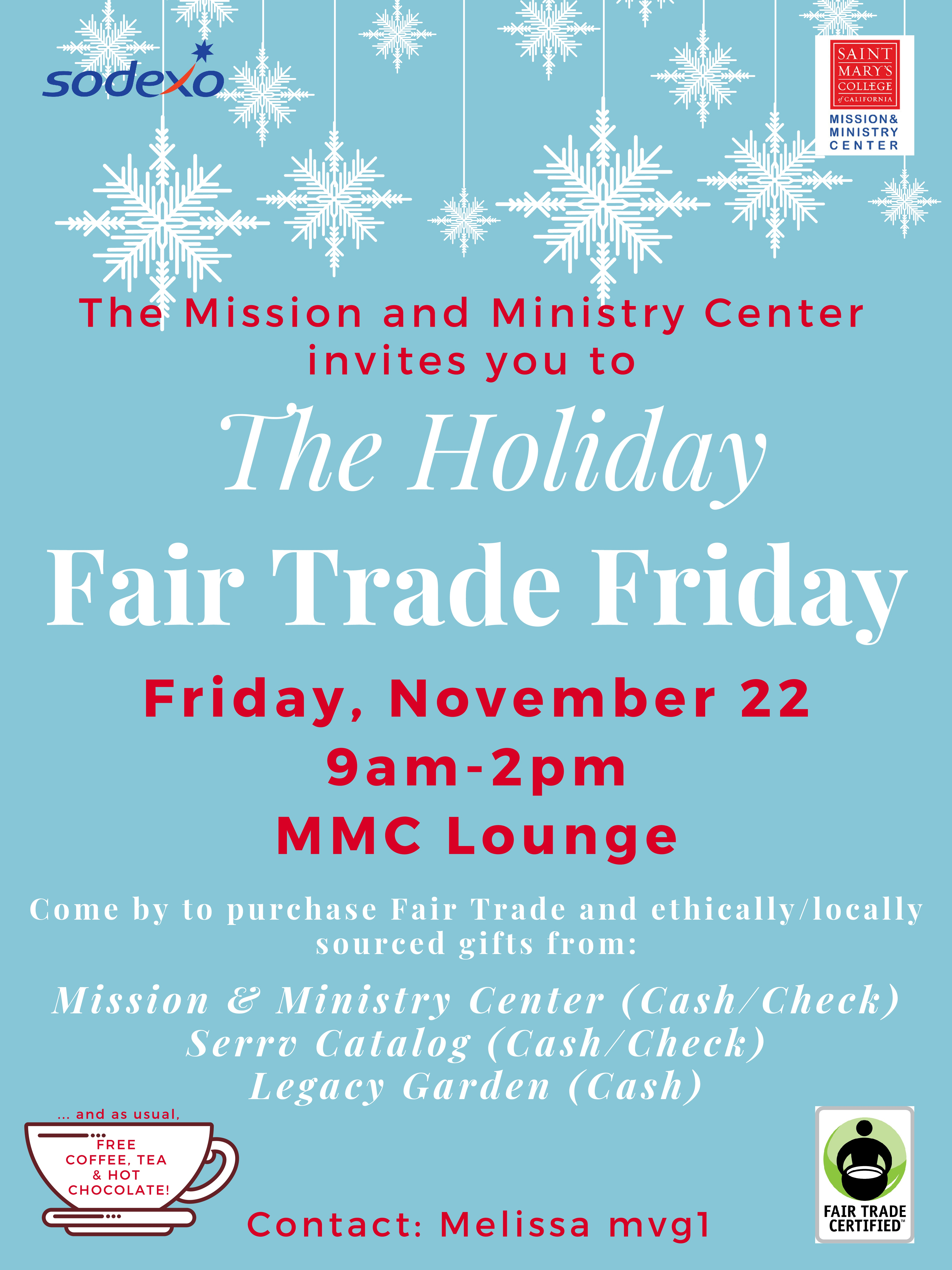 Holiday Fair Trade Friday