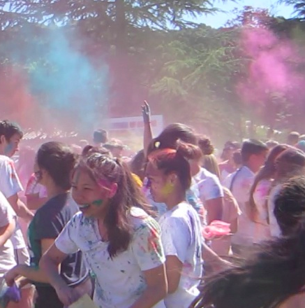 SMC Students Celebrate Festival of Colors