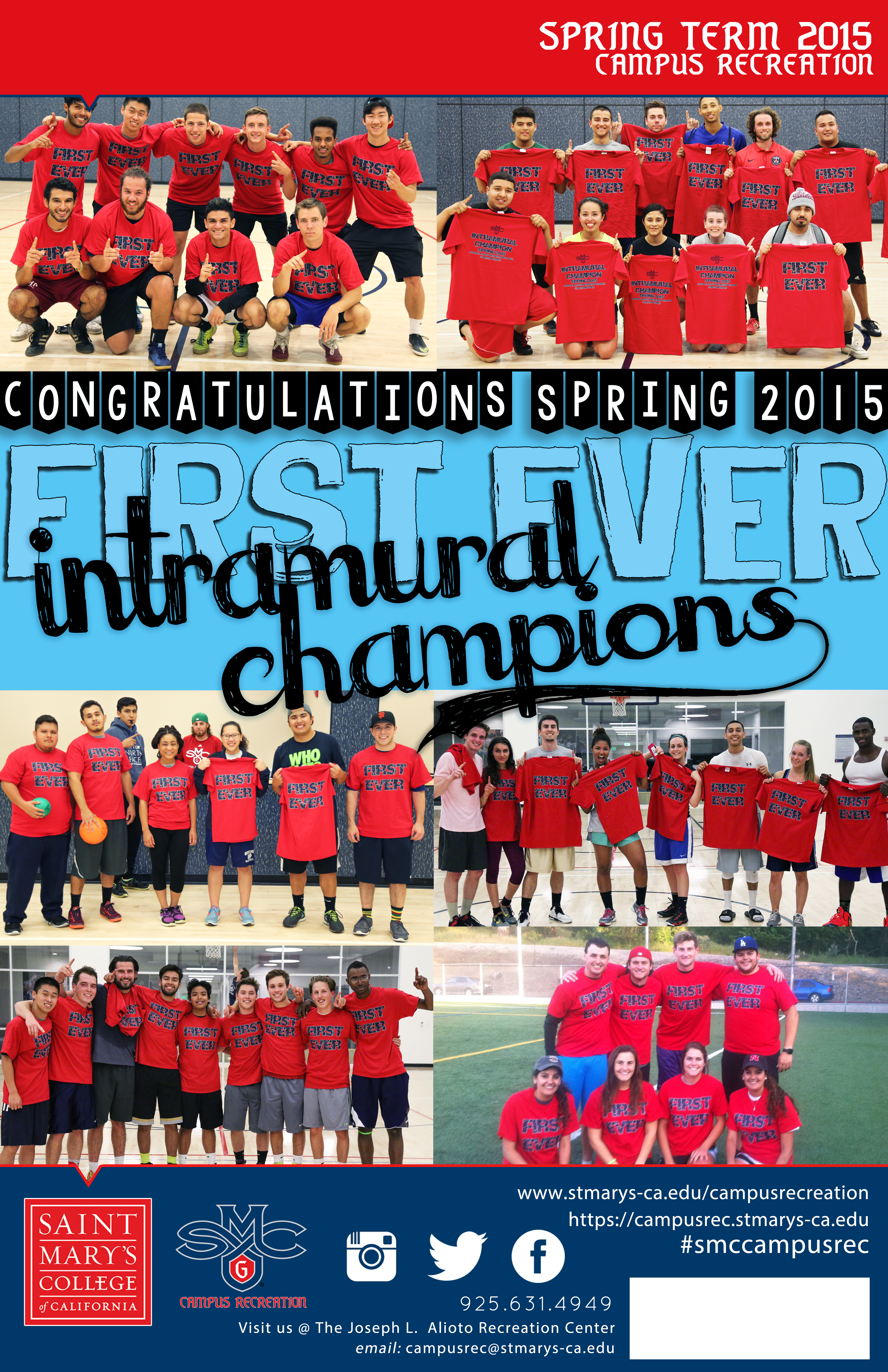 Spring 2015 IM Champs!