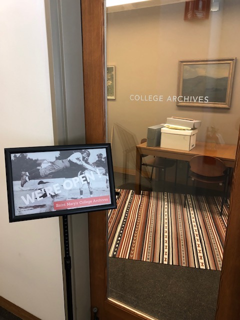 College Archives entrance