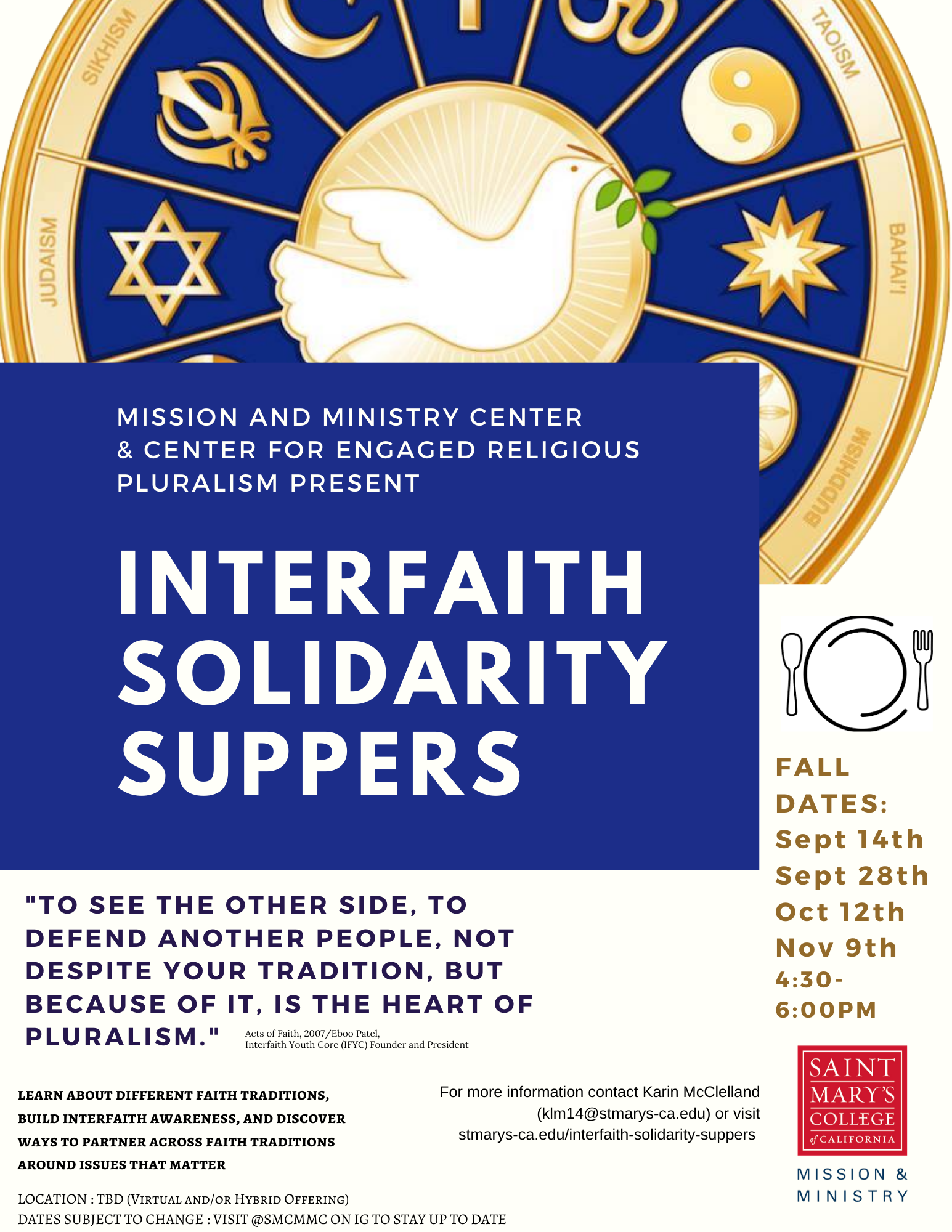 Solidarity Suppers Fall 2020