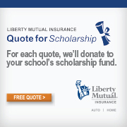 Liberty Mutual Insurance Quote for Scholarship