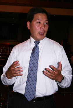 Chris Lu, former Cabinet Secretary to President Barack Obama.