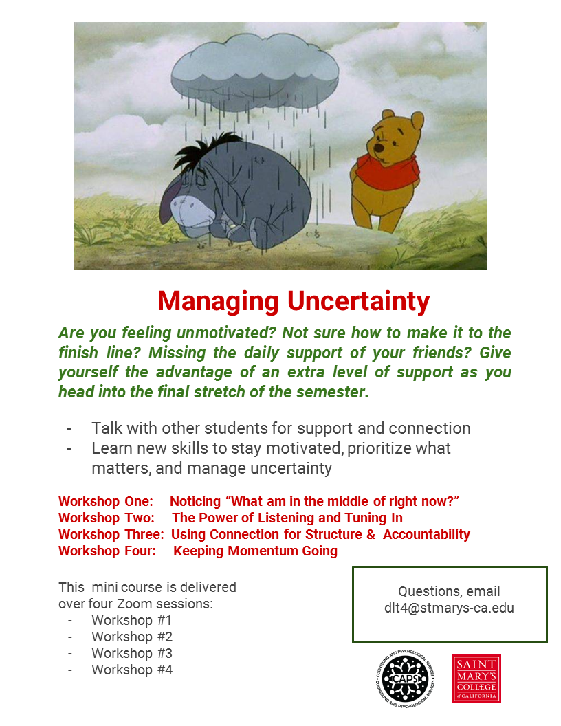 Managing Uncertaintly