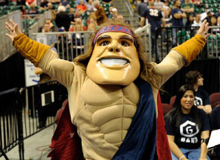 The Smiling Face Behind the Gaels Mascot | Saint Mary's ...