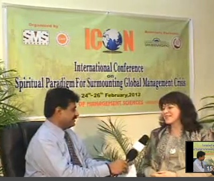 Director McGraw interviewed at SMS, Varanasi India