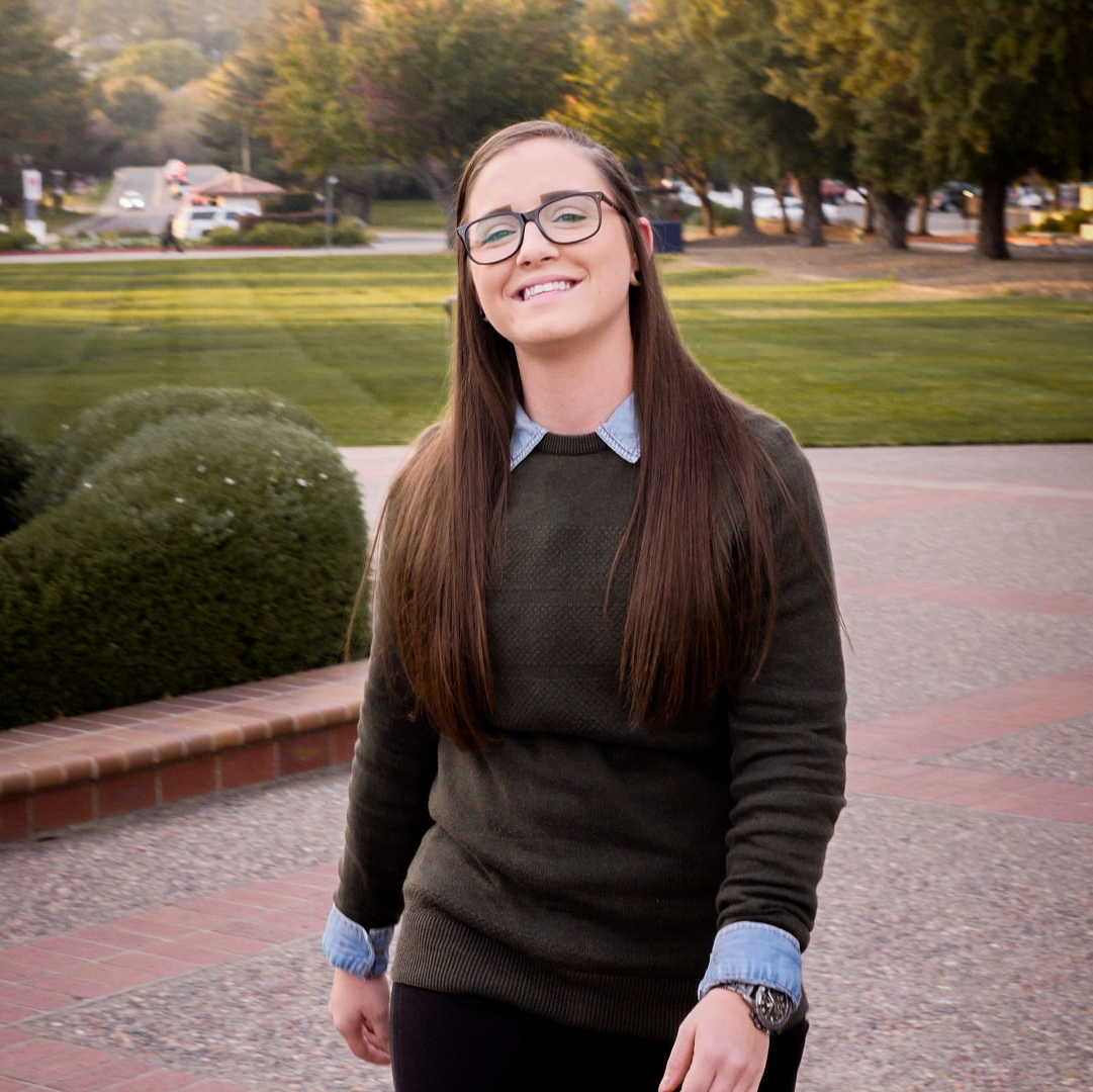 Morganne Whaley, Saint Mary's College of California, Undergraduate and Graduate Student, MS Management & Technology