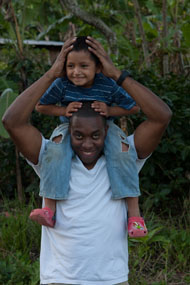 Shomari Carter and youngster