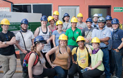 class in hardhats
