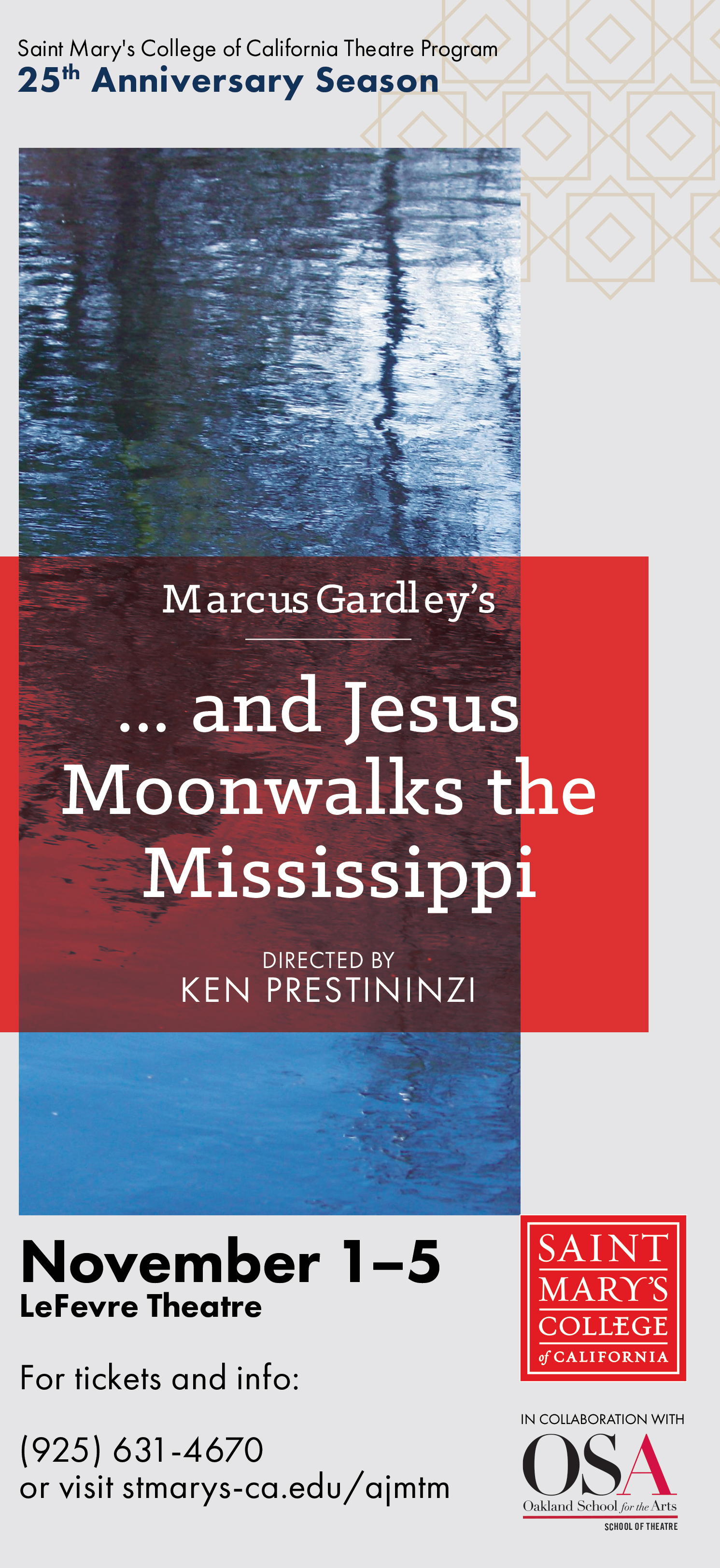 Fall Play ...and Jesus Moonwalks the Mississippi ad
