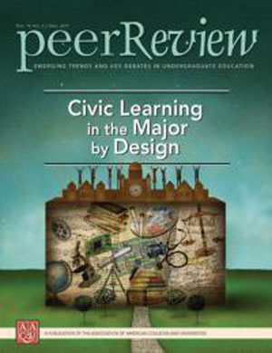 Peer Review, the quarterly magazine of the Association of American Colleges and Universities (AACU).