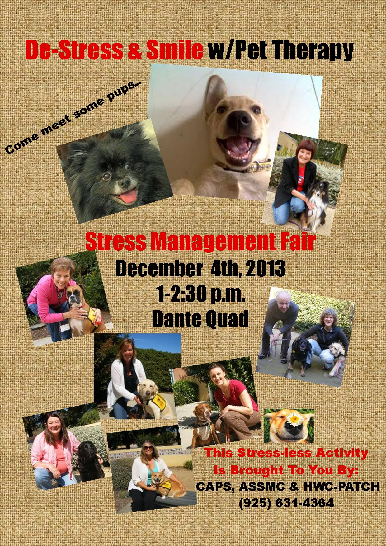 Pet Therapy Flier