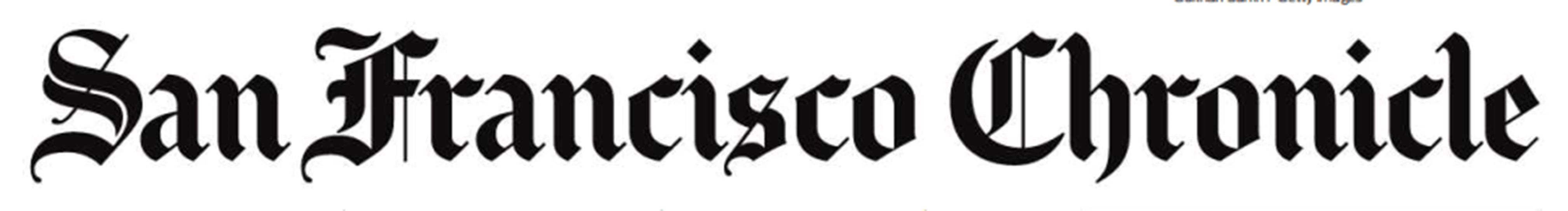 Image result for san francisco chronicle masthead