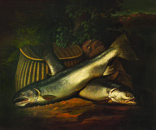 Samuel Marsden Brookes, Sacramento River Fish, 1872, The James and Charlene Harvey Collection.