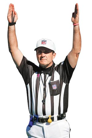 Peter Morelli '73 is the new president of Saint Mary's High School in Stockton and will be entering his 18th season as an NFL referee.